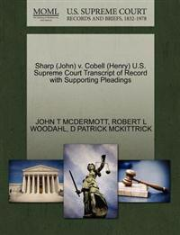 Sharp (John) V. Cobell (Henry) U.S. Supreme Court Transcript of Record with Supporting Pleadings