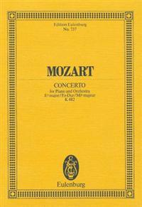 Mozart: Concerto for Piano and Orchestra, E-Flat Major/Es-Dur/Mi-B Majeur, K 482