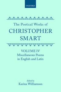 The Poetical Works of Christopher Smart