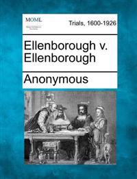 Ellenborough V. Ellenborough