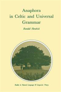 Anaphora in Celtic and Universal Grammar