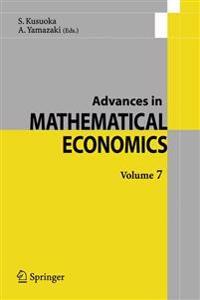 Advances In Mathematical Economics.