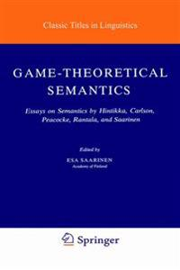 game theoretical semantics saarinen esa