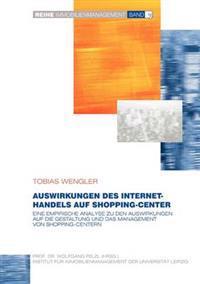 Auswirkungen Des Internet-Handels Auf Shopping-Center