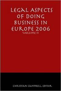 Legal Aspects of Doing Business in Europe