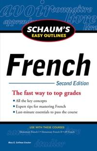 Schaum's Easy Outlines French
