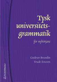 Tysk universitetsgrammatik för nybörjare