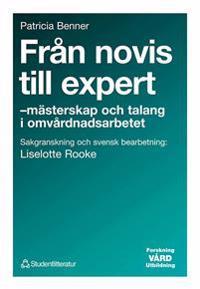 Från novis till expert - - mästerskap och talang i omvårdnadsarbetet