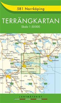 581 Norrköping Terrängkartan : 1:50000