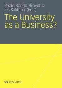 The University As a Business?