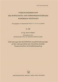 Untersuchungen Über Den Einfluss Der Auspuffrohrabmessungen Auf Den Ladungswechsel Einer Einzylinder-zweitakt-vergasermaschine Mit Kurbelkastenspülung