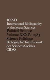 International Bibliography of Political Science, 1985
