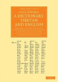 Essay Towards a Dictionary, Tibetan and English