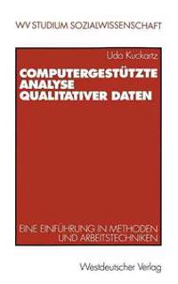 Computergestutzte Analyse Qualitativer Daten