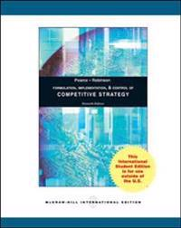 Formulation, Implementation and Control of Competitive Strategy
