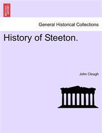 History of Steeton.