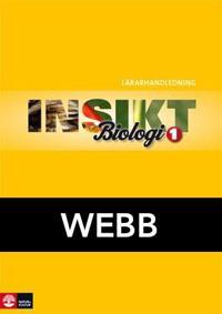 Insikt Biologi 1 Lärarhandledning Webb