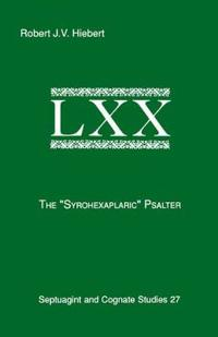 Syrohexaplaric Psalter