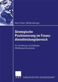 Strategische Positionierung Im Finanzdienstleistungsbereich